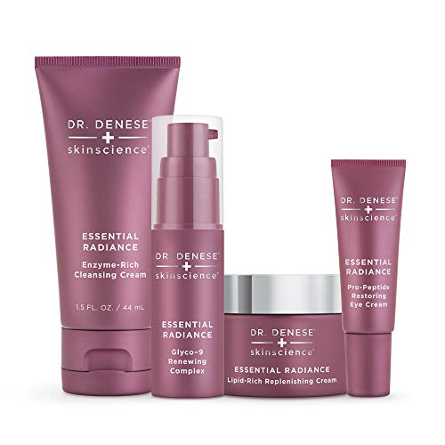 - Dr. Denese Essential Radiance Starter Collection | 4-Piece Skin Care Collection | Paraben Free, Not Tested on Animals, Doctor Developed