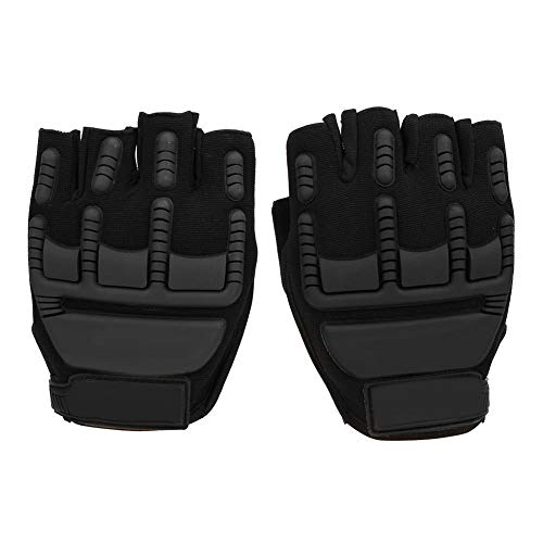 Climbing Protection Glove Outdoor Biking Gloves Half Finger Protection Glove for Cycling Skiiing Fitness