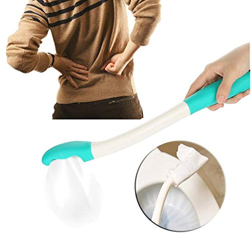 - Self Wipe Assist Bottom Wiping Toilet Aid Self Wipe Assist Tissue Holder Tool Long Reach Comfort Wipe Toilet Aid Tools