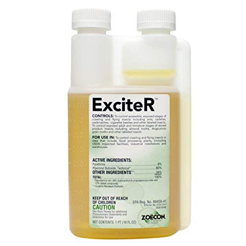 ExciteR Contact Pyrethrin with Flushing action
