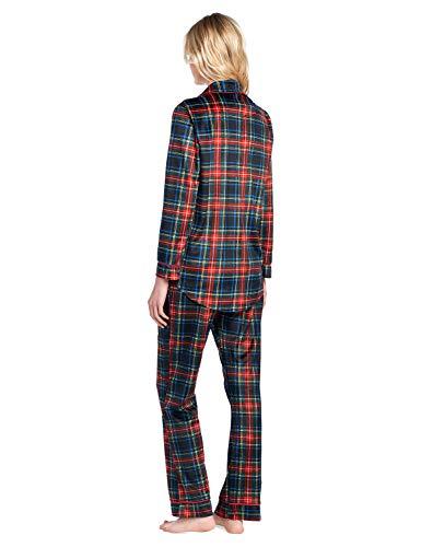 Ashford   Brooks Women s Long Sleeve Minky Micro Fleece Pajama Set at  Amazon Women s Clothing store  ed937f1c1