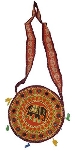 bandoulière sac d'épaule Designer coton Jhola sac boho