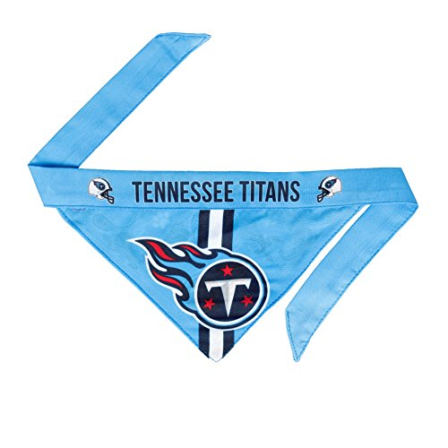 Tennessee Dog Bandana - NFL Tennessee Titans Pet Bandanna,