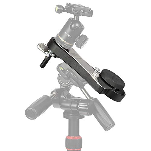 Omegon Star Tracker Mini Track LX2 N/S - Mechanical Travel Mount Autoguider for Astrophotography with DSLR and Lightweight telescopes
