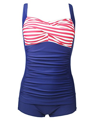 Tempt Me Ruched Monokini Swimsuits