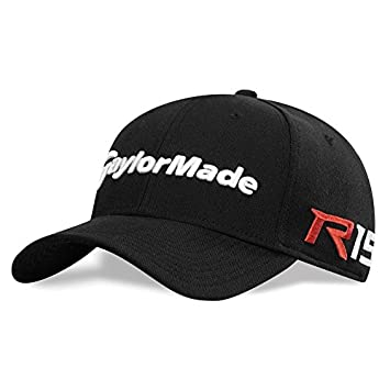 Amazon.com   NEW TaylorMade R15 Aero Burner New Era 39 Thirty Black Fitted  S M Hat Cap   Sports   Outdoors 50a1523d6609