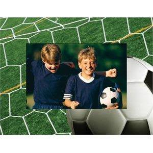 Soccer Paper Picture Frame - Case of 50 by Neil Enterprises, Inc