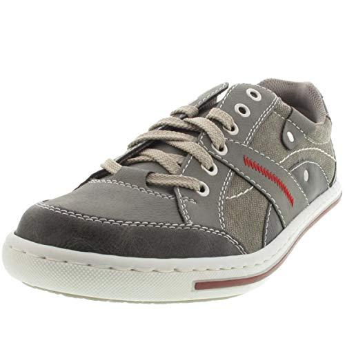 Sneakers Sneakers Rieker 19013 Herren 19013 Herren Grau Rieker Grau Rieker Tw8gqvR