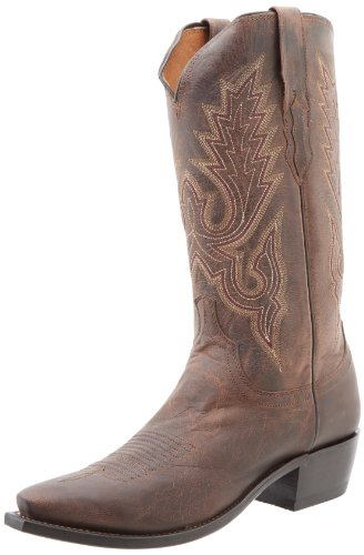 (Lucchese Classics Men's M1002 Boot,Chocolate Madras Goat,11 D (M) US)