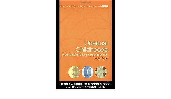unequal childhoods book