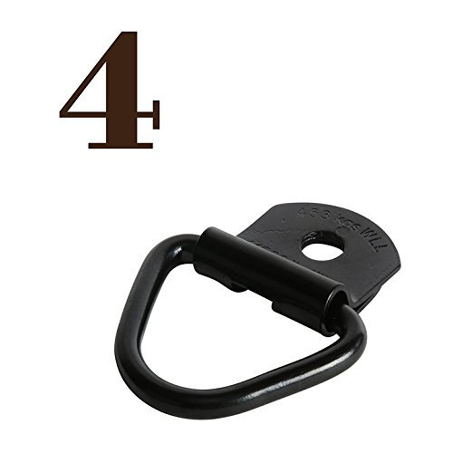 - 4 V-Ring Tie Down Anchors | 2