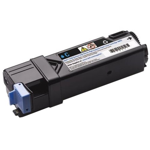 331-0716 Cyan 2500 Page Yield Toner Cartridge for Dell 2150CN 2150CDN 2155CN 2155CDN Printer (duplicate of 760857)