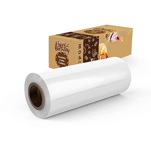 New Fashion Acetat Kuchen Halsbänder 10 Cm X 10 M Klar Schokolade Mousse Acetat Blatt,.. In Short Supply Home & Garden