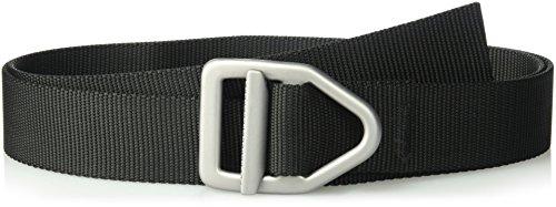 - Bison Designs 38mm Wide Light Duty Belt with Gunmetal Buckle (Black, 46-Inch Maximum Waist/X-Large)
