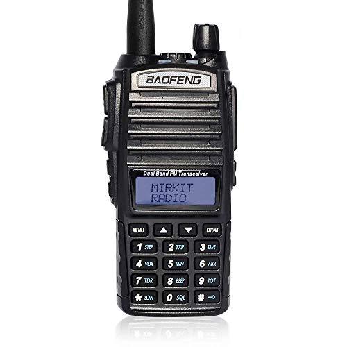 - Mirkit UV-82 MK5 8 Watt MP Max Power 2019 2800 mAh Li-ion Battery Two Way Radio Mirkit Edition