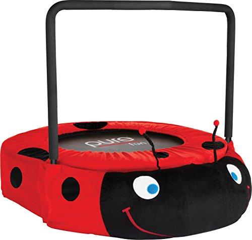 Pure Fun Ladybug Jumper Trampoline, Red by Pure Fun
