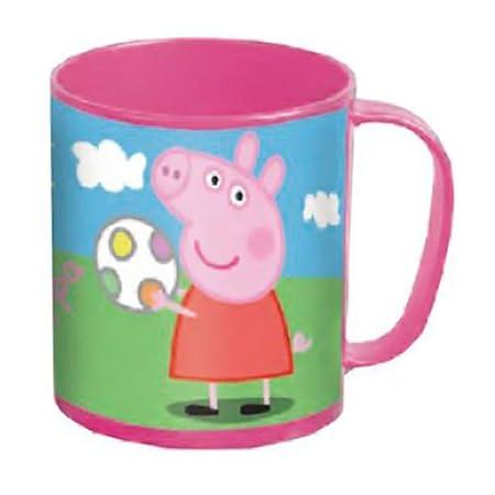 Peppa Pig - Taza bebé especial microondas Peppa Pig: Amazon ...