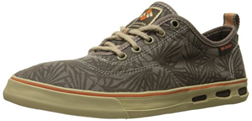 Columbia Mens Vulc N Vent Lace Sneaker Major / Desert Sun