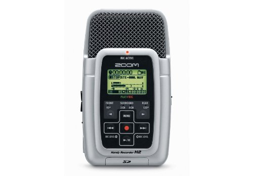 Zoom H2 Portable Recorder - Zoom H2 Handy Portable Stereo Recorder