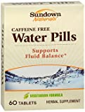 Naturals Water Pills Review and Comparison