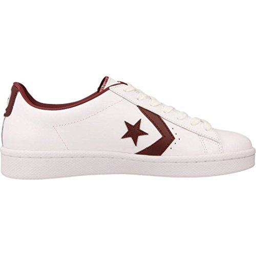 Bianco Sneaker Bianco OX Converse Leather Pro WOOp64