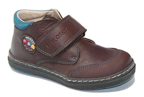 Pablosky , Chaussures de ville à lacets pour homme marron