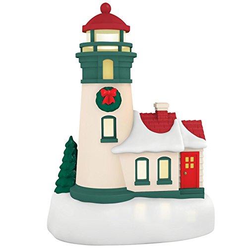 Hallmark Keepsake 2017 Lil Lighthouse Mini Christmas Ornament With Light