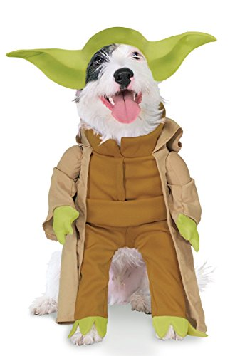 Rubie's Costume Star Wars Collection Pet Costume, Yoda with Plush Arms, (Halloween Watch Online)