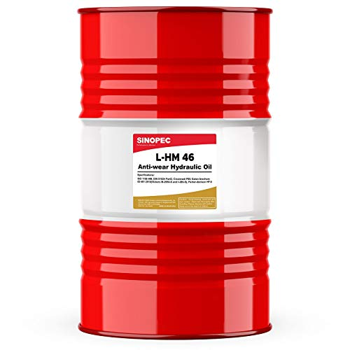 AW 46 Hydraulic Oil Fluid (ISO VG 46, SAE 15) - 55 Gallon Drum (Weight Of 55 Gallon Drum Of Oil)