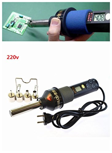 Price comparison product image Nozzle 220V 450 450W LCD Soldering Station Hot Air Gun ICs SMD Desolder