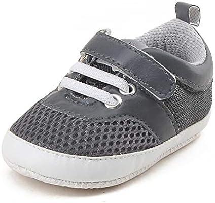 c37c82eff31 Amazon.com: Baby Sneakers,Vanvler Infant Toddler Shoes Boys Girls Mesh Soft  Sole Prewalker (12, Black): Home & Kitchen