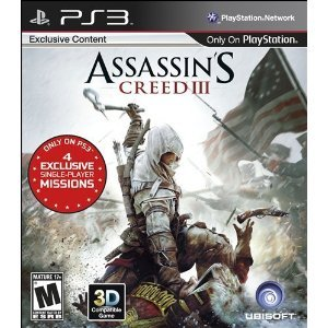 Assassin's Creed 3 - Includes Exclusive Content for Ps3 Only. Ships Priority - Time Priority Ship Mail