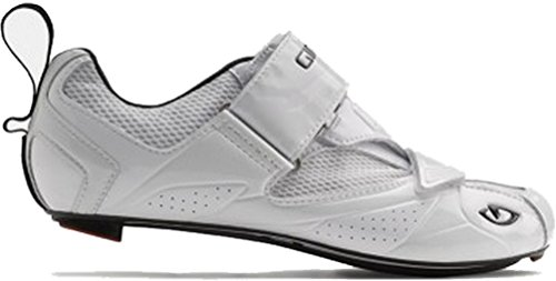 Giro GF20180 Mens Mele Tri Road Shoes, White – 42 For Sale