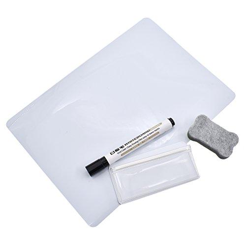 Towashine Magnetic Dry Erase Whiteboard Sheet for Fridge Refrigerator 12