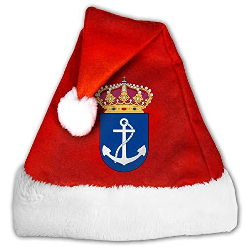 QZDLq Coastal Fleet Fashion Unisex Christmas Hat Christmas Theme Hats
