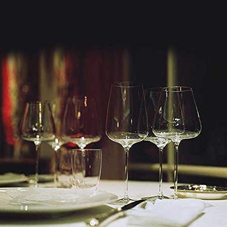 Italesse Set 6 Etoilé Noir Copa Vino Tinto CC. 790 Transparente