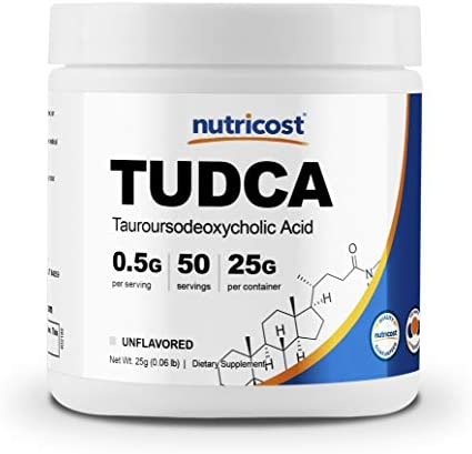 Nutricost Tudca Powder Grams Tauroursodeoxycholic product image