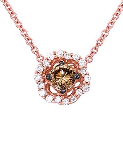 LE VIAN 14K Rose Gold 0.27 Ct. Tw. Diamond Necklace