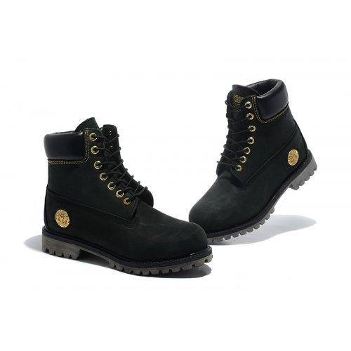 beff04fcb3 Timberland Mens 6-Inch Premium Waterproof Boots Black/Gold (Mens: 9 ...