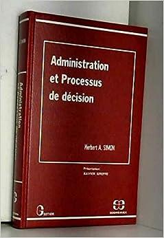 Administration et processus de décision