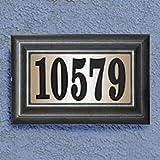 Elegant 24-Volt Classic Lighted Address Plaque For Address Numbers