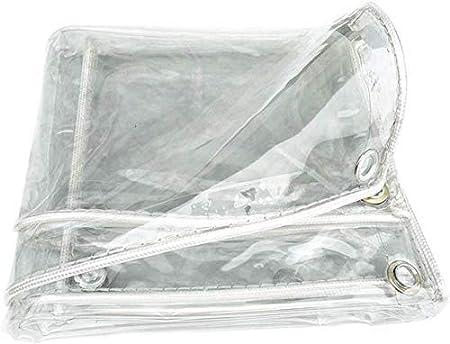 YKJL Lona de Tela Pérgola Transparente a Prueba de Polvo Lona de Muebles de jardín Cortina Impermeable de PVC Carro de Cubierta Engrosado-1.2X2M Claro: Amazon.es: Hogar