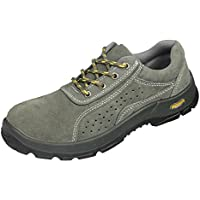 MagiDeal Safety Work Shoes Mens Steel Toe Puncture Proof Breathable