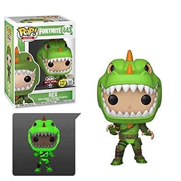 Funko Pop! Games: Fortnite - Rex (Glow In The Dark): Amazon ...