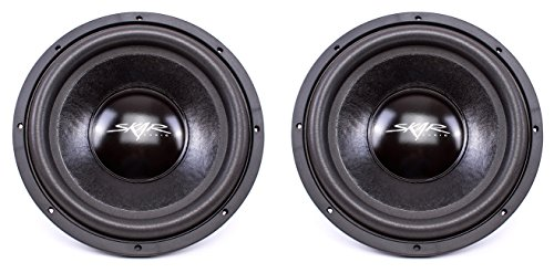 (2) Skar Audio IX-12 D2 12″ 500W Max Power Dual 2 Subwoofer