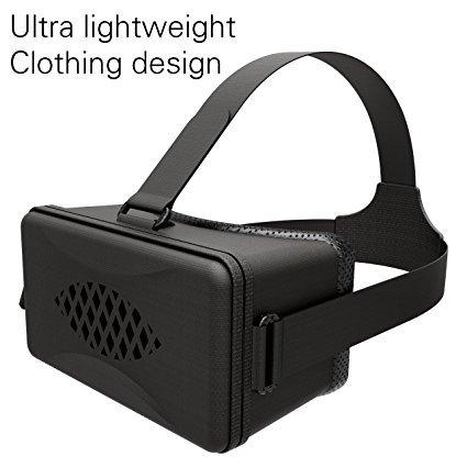 hizek Headset Realidad Virtual 3d Glasses + Bluetooth Remote Controller películas Juegos Box Casco para...