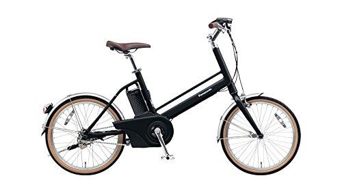 Panasonic(パナソニック) 2017年モデル Jコンセプト 20インチ BE-JELJ01 電動アシスト自転車 専用充電器付 B073B3KYVHB:マットナイト(漆黒)