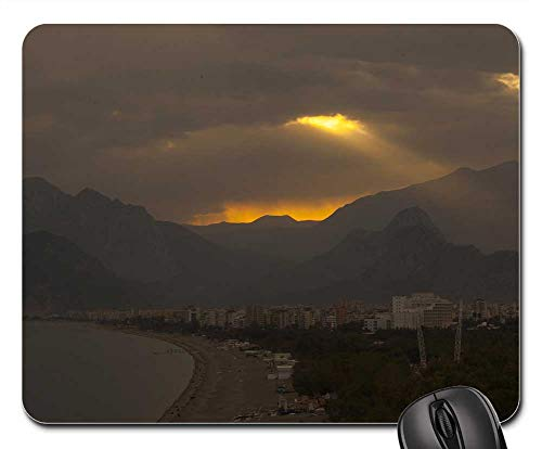 Mouse Pad - Landscape Mountain Sunset Nature Spring Clouds