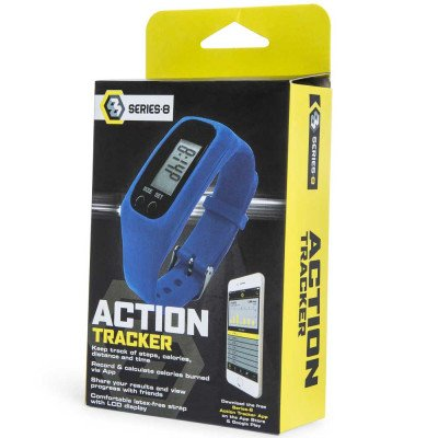 Series 8 Fitness Action Tracker, Steps Counter, Calories Track App for Android and iOS