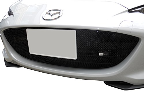 Zunsport Compatible with Mazda MX5 MK4 ND - Full Lower Grille - Black Finish (2015 -)